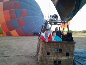 Our balloon adventure, Sonoran Desert