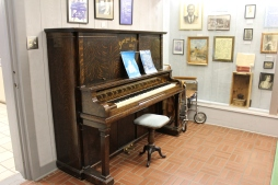 W.C. Handy Piano and Wheelchair