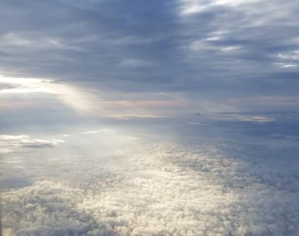 Sky over Atlanta